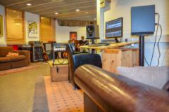 Studio geluidsstudio muziekstudio opnamestudio zoete inval