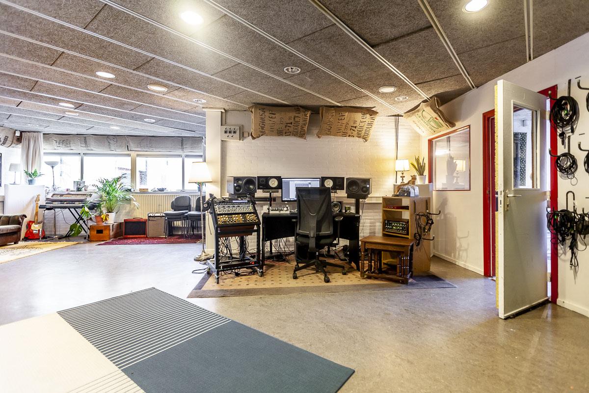 Studio geluidsstudio muziekstudio opnamestudio
